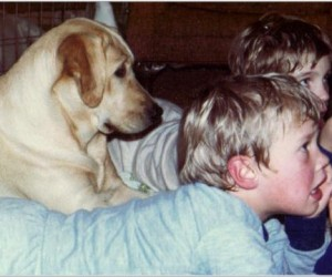 Drycreek Labradors - McKenna and kids